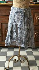 Magnifique jupe Comptoir des Cotonniers taille 36 en soie, doublure comme neuve