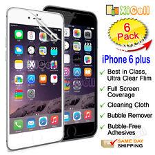 "6pk  Apple iPhone 6 plus 5.5"" Screen Protector, ULTRA CLEAR PET Guard Film   New"