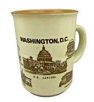"Vintage Washington DC Souvenir Coffee Mug - 4"" Tall - Made in Japan"