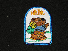 """Girls Scouts Toys For Tots Patch NEW Bear Walking Holding Present About 2"""" x 3"""""""