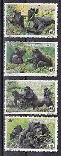Briefmarken mit Tier-Motiven als Satz aus Ruanda