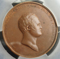 "1811, Finland, Alexander I of Russia. Copper ""Academy of Abo"" Medal. PCGS SP-58!"