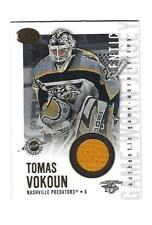 Tomas Vokoun 2002-03 Pacific Calder Jersey Card, # 13, Nashville Predator