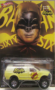 Hot Wheels CUSTOM FORD F-150 Batman-Adam West Tribute Real Riders 1/25 Made