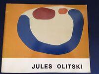 JULES OLITSKI Selected PAINTINGS 1962-1985 Retrospective View / exhibition 1986