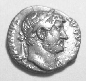 HADRIAN. SILVER DENARIUS. Ref. 026.