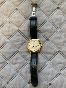 Versace VFI020013 Apollo white rose gold silver black Leather Men's Watch