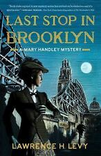 Mary Handley Last Stop in Brooklyn Mystery 3 Lawrence H Levy Paperback Fiction