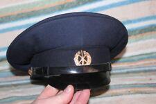 Original uniform service cap Hat Badge Sovie USSR  1980  57 Firefighters