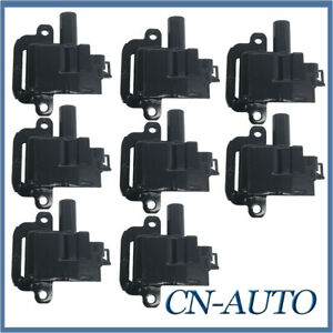 8X Ignition Coils For Holden Commodore VT VX VY VZ Statesman WH WK WL LS1 5.7L