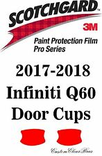 3M Scotchgard Paint Protection Film Pro Series Clear For 2017 2018 Infiniti Q60