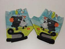 Kinder Fahrrad Handschuhe Gr.XS Schäfchen Sport Handschuhe mit Lagerspuren 99131