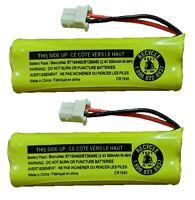 Vtech Battery BT183482 BT283482 89134801 CPH518J CS6114 DS6421 LS6425 (2-Pack)