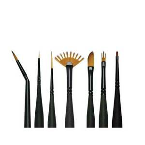 Royal & Langnickel Mini Majestic Fine Detail Assorted Paint Brushes