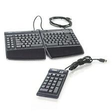 Kinesis Freestyle 2 KB800PBUS USB 2.0 Ergonomic Keyboard w/ AC800HPBUS Keypad