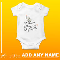 Personalised Baby Grow Vest Bodysuit Girl Or Boy Perfect Gift Custom