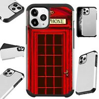 Fusion Case For iPhone 11/Pro/X/XR/XS Max Phone Cover RED PHONE BOOTH