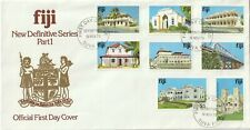 1979 Fiji oversize FDC cover Definitive Series Part I Buildings