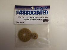 TEAM ASSOCIATED - TC3 DIFFERENTIAL RING GEAR & DRIVE PINION GEAR - Model # 3914