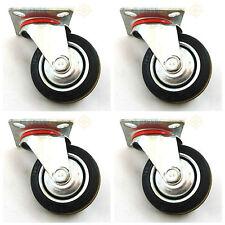 "4 x 3"" Swivel Castor / caster Wheels for trolleys"