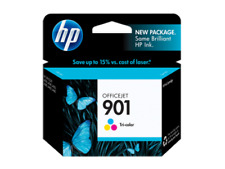HP 901 Color Ink Cartridge GENUINE NEW!  LOT OF THREE