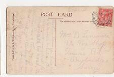 Mrs. D. Levermore, The Toy Shop, Queens Road, Weybridge 1919 Postcard, M034