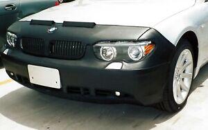 Colgan Front End Mask Bra 2pc. Fits BMW 745i 745li 760i 760li 2002-05 W/License