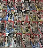 WWE Wrestling figures Mattel Basic series