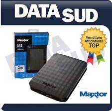 Maxtor M3  (HX-M101TCB/GMR) 1TB USB 3.0 Hard Disk Esterno