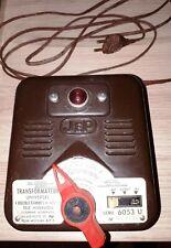 TRAIN MINIATURE TRANSFORMATEUR ELECTRIQUE JEP 6053 U ANNEES 60