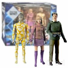 New Classic Doctor Who Claws Of Axos Collector's Set Action Figures 3rd Official