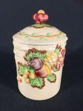 Vintage Royal Staffordshire Preserve Jam Mustard Honey Jar Pot (ref Y016)