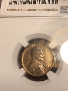 1922 No D 1C Strong Reverse Lincoln Cent NGC UNC Uncirculated Details