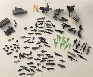 Mega Bloks Halo Lot Of weapons 150+ Weapons And Grenades