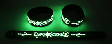 EVANESCENCE  Glow in the Dark Rubber Bracelet Wristband Bring Me To Life gg146