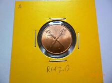 A: Malaya 1 Cent 1962 - BU