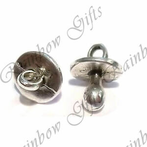 BABY DUMMY CHARMS PACIFIER BABY DUMMIES TIBETAN SILVER CHARMS