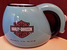 Harley-davidson Born To Ride Lil' Biker Blue Kids Child Cup Mug With Key Inside