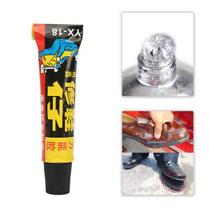 18g Super Adhesive Repair Glue For Shoe Leather Rubber Canvas Tube Strong Bond D
