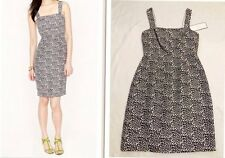 NWT J.Crew Hailey Dress Size 6 Speckled Silk Special Occasion New