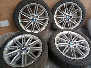 BMW 1 SERIES M-SPORT - ALLOY WHEEL SET + TYRES