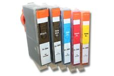 5x CARTUCHO de TINTA color y negra para HP Deskjet 3070, 3070a