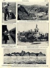 Le Chili tremblement de terre coucher D. robinson île entre autres historique des enregistrements de 1906