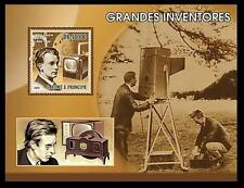 Sao Tome MNH SS, John Logie Baird, Scottish Scientist, Inventor world's 1st TV