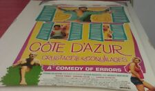 COTE D'AZUR MOVIE POSTER 1 Sided ORIGINAL ROLLED 27x40