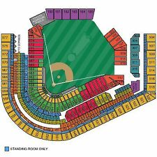 2 Oakland Athletics @ Cleveland Indians WED 5/31, Field Box 158 AISLE