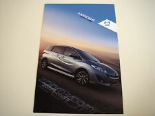 Mazda . 5 . Mazda 5 Venture . 2012 Sales Leaflet