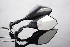 Suzuki M1800R Intruder GS500E Black Naked bike 10mm INTEGRATED LED MIRRORS