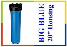 "BIG BLUE Filter Housing suit 20"" x 4.5"" 1 1/4"" in/out"