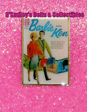 BARBIE & KEN DELL TRAVEL ALONG ADVENTURE BOOK PIN 2012 NBDC Convention PIN_New